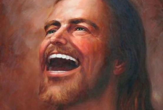 jesus memes happy meme funny point saves face christ laughing god smiling fuck gospel laugh lol going fucking smile he